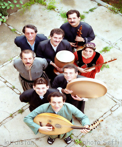 List of Kurdish Music Bands and Artists   : Vote for your favorites.