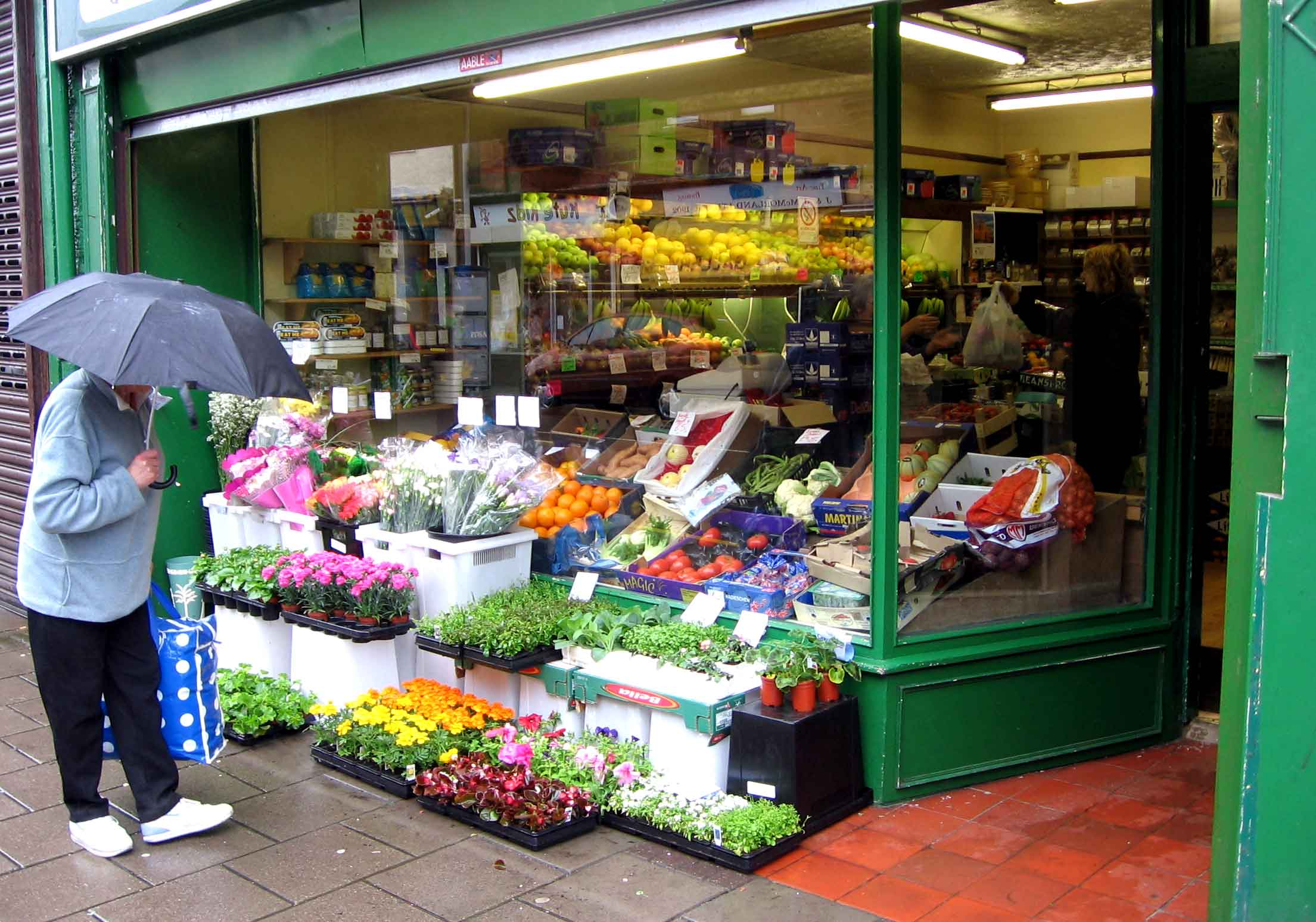 List of Greengrocer    : Vote for your favorites.